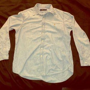 POLO RALPH LAUREN Classic Fit Chambray Shirt denim
